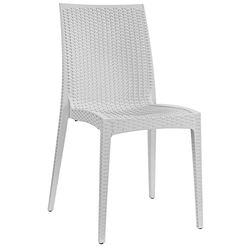 Modway Intrepid Dining Side Chair in Gray
