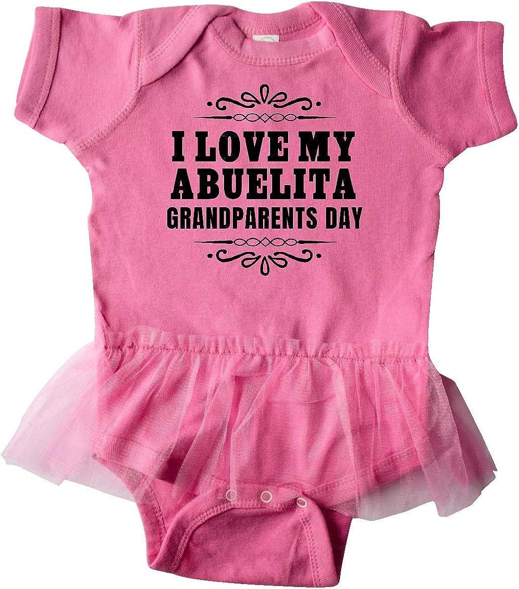inktastic Grandparents Day I Love My Abuelita Infant Tutu Bodysuit