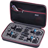 Smatree Smacase G360 Carrying Case for Gopro Hero 5/4/3+/3/2/1(Camera and Accessories are NOT included)