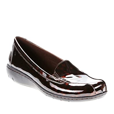 CLARKS Women's Bayou,Brown/Combination Leather ...