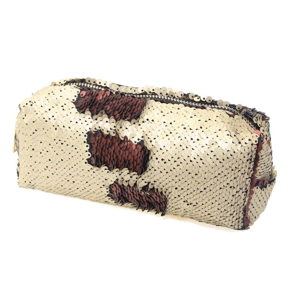 MHJY Mermaid Sequin Cosmetic Bag Magic Sequins Makeup Pouch Fashion Color Changing Makeup Bags DIY Reversible Sequins Handbag Glitter Pencil Case touchhome KJ-BAG00504@#MH