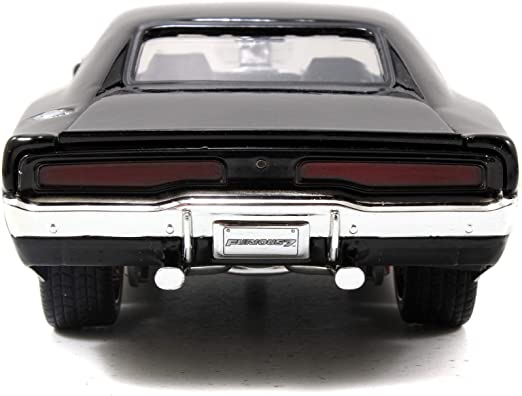 Dodge Charger Gr/ün Schwarz The Fast and Furious 7 2008 Kit Bausatz 1//24 Jada Modell Auto