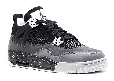 "Grade School Youth Size Nike Air Jordan Retro 4 /""Bred 2019/"" Fashion 408452 060"