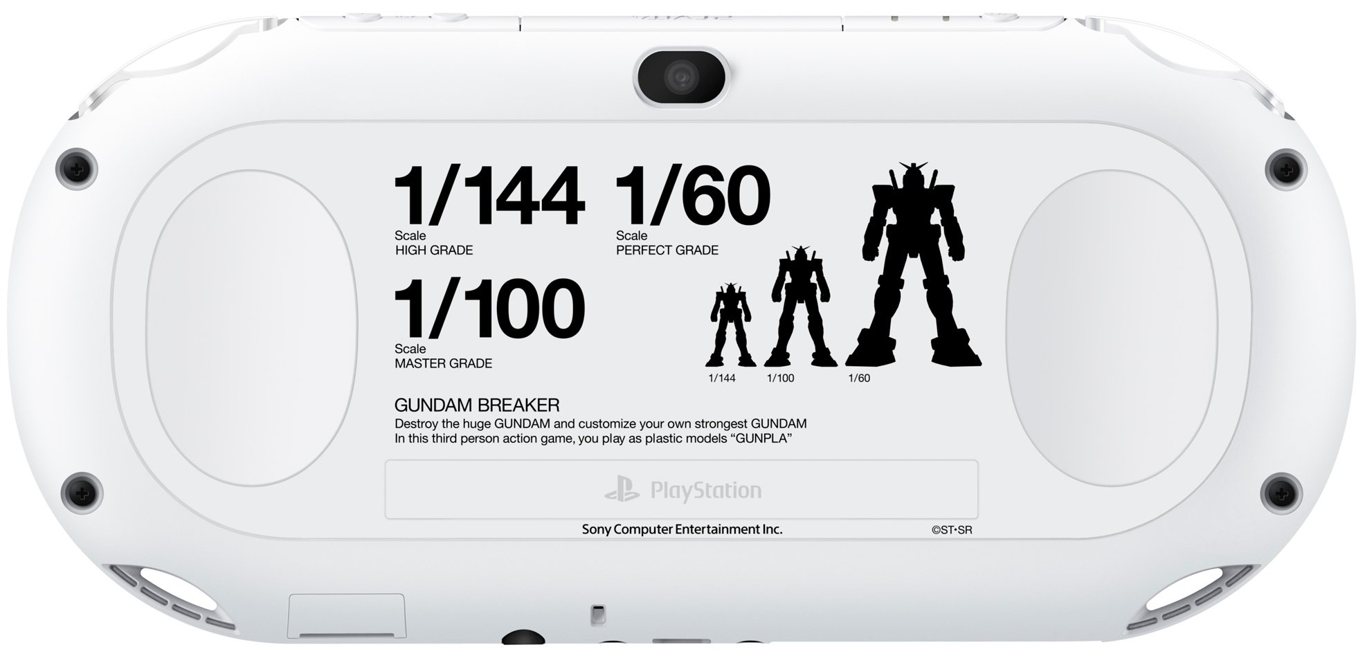 PlayStation Vita Gundam Breaker set(PCHL-60001)(Japan Import)