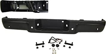 Replacement Rear Bumper Step Pad Fits Ford F-150 W//O Park Assist Sensors With Tow Hook