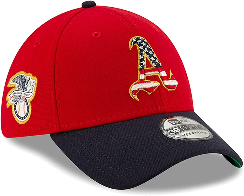 New Era 2019 Stars /& Stripes 4th of July 3930 39THIRTY Flexfit Cap Hat