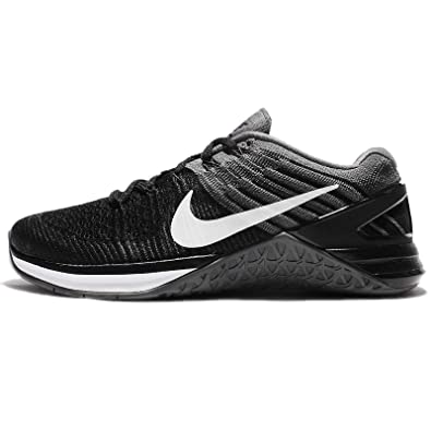 f2763157b7f4 Nike Women s Metcon DSX Flyknit Training Shoe Black White-Dark Grey 6.5
