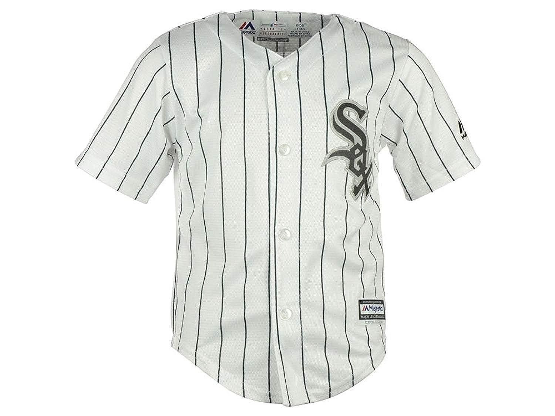 92724cfec46 ... italy amazon majestic toddler mlb chicago white sox baseball white  black jersey clothing 6c26a 9ab66