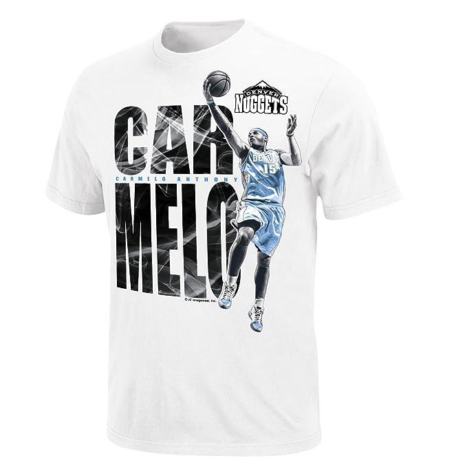 check out c68c8 e7647 Amazon.com : NBA Majestic Men's Denver Nuggets Carmelo ...