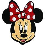 Parches - Minnie Mouse Disney cómico niños - rojo - 6,5x7,5cm - by catch-the-patch® termoadhesivos bordados aplique para ropa