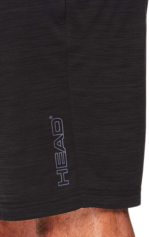 HEAD Mens Performance Workout Gym /& Running Shorts w//Elastic Drawstring Waistband /& Pockets