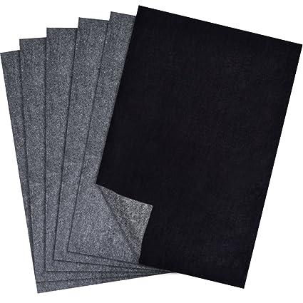 amazon com hotop 100 sheets carbon transfer paper black tracing