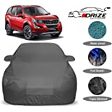 DRIZE™ XUV 500 Body Cover Waterproof with Triple Stitched Fully Elastic Ultra Surface Body Protection (Grey Look)