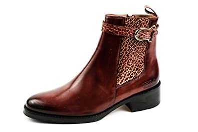 cc17788c9041e0 Melvin   Hamilton Damen Elaine 20 Chelsea Boots Weinrot Gr. 37 ...