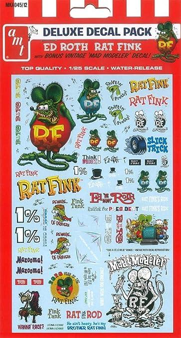 Rat Fink acrylic pin LE10 classic car 1.75\u201d