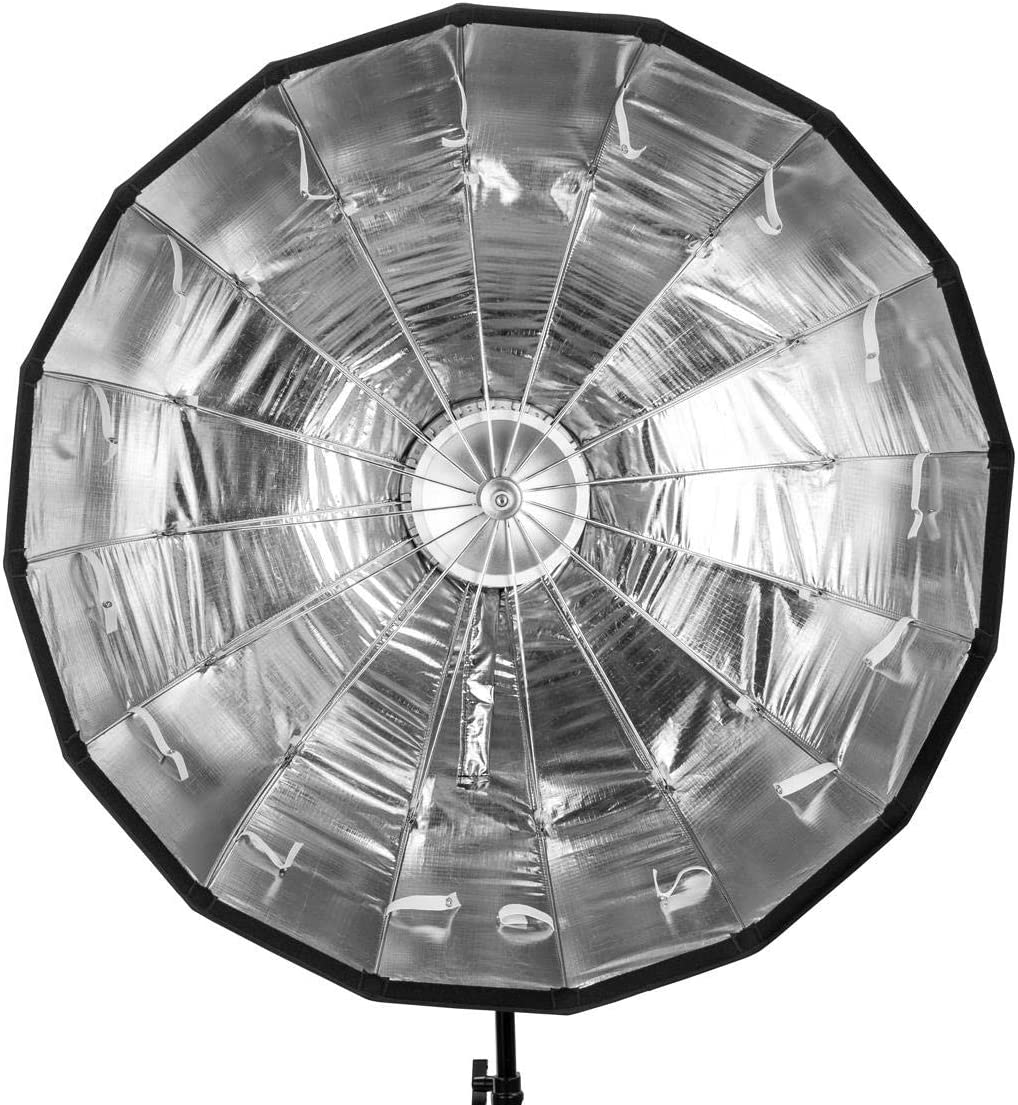 34 Glow EZ Lock Collapsible Silver Beauty Dish