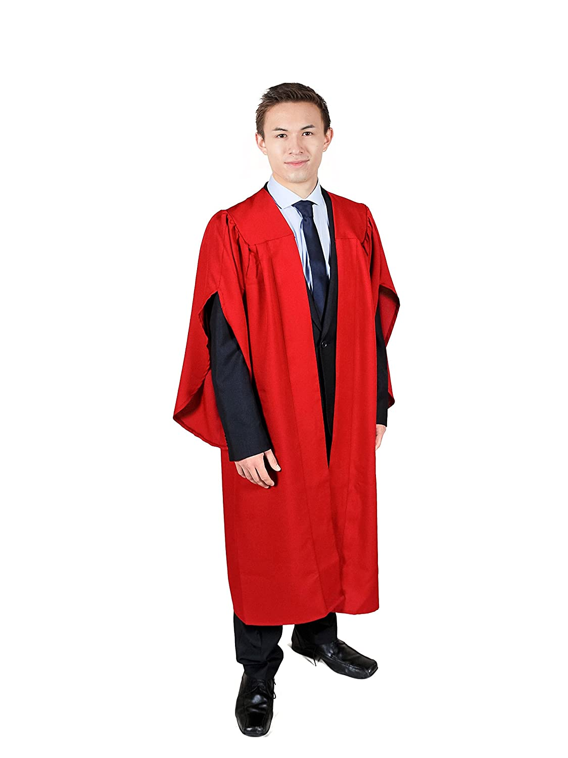 Graduation Attire Red Open Front Choir Robe