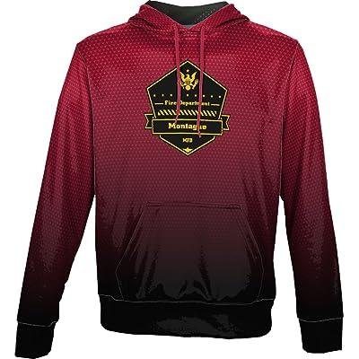 ProSphere Boys' Mayten Fire District Fire Department Zoom Hoodie Sweatshirt (Apparel)