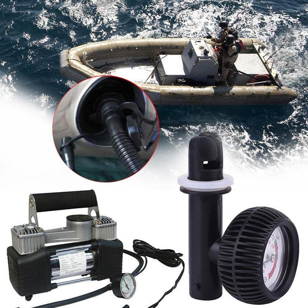 Waroomss Jauge de pression dair Barom/ètre pour bateau gonflable Kayak Surf Gonfleur Pompe
