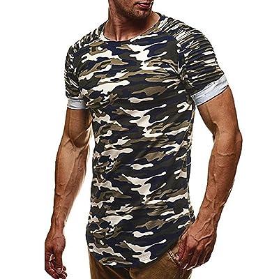 bacc8006a4002 FAMILIZO Camisetas Manga Corta Hombre Moda Camisetas Hombre Camuflaje Camisetas  Hombre Sport Camisetas Hombre Algodón Camisetas Hombre Verano Camisetas ...