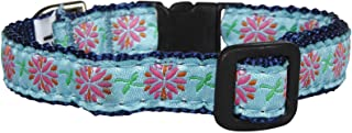 product image for Up Country Dahlia Darling Cat Collar - Size 10