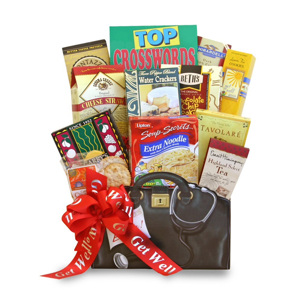 California Delicious Gift Basket, Get Well Wishes