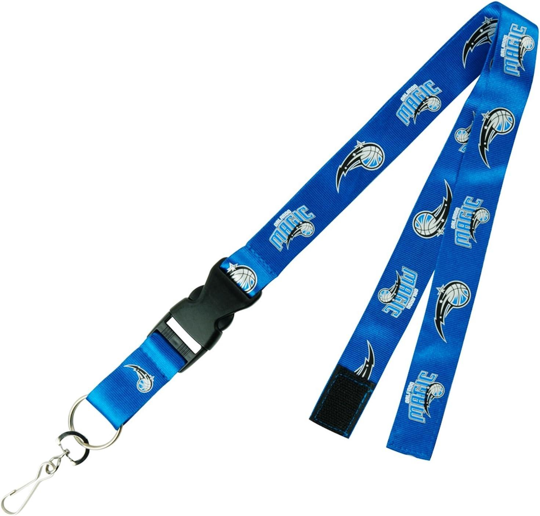 Orlando Magic PSG Blue Premium Lanyard 2-Sided Breakaway Keychain Basketball