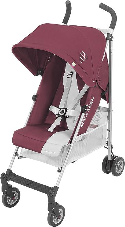 Oferta amazon: Maclaren Triumph Silla de paseo - ligera, de los 6 meses hasta los 25 kg, Asiento multiposición, suspensión en las 4 ruedas, Capota extensible con UPF 50+