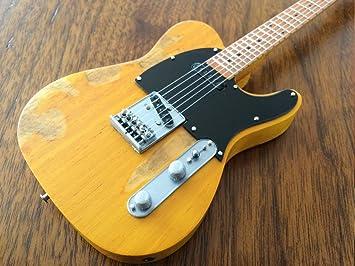 Hacha HEAVEN Fender Telecaster guitarra en miniatura de colección ...