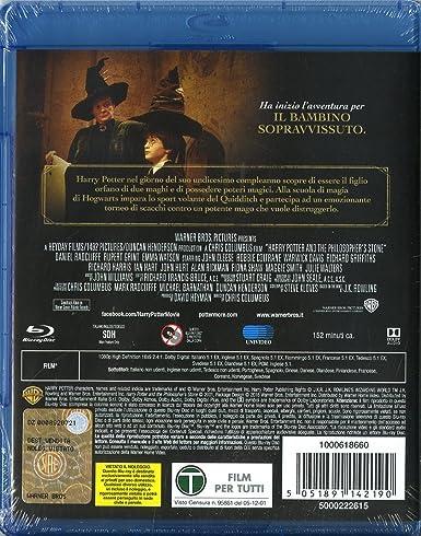 Harry Potter E La Pietra Filosofale (SE) [Blu-ray]: Amazon.es ...