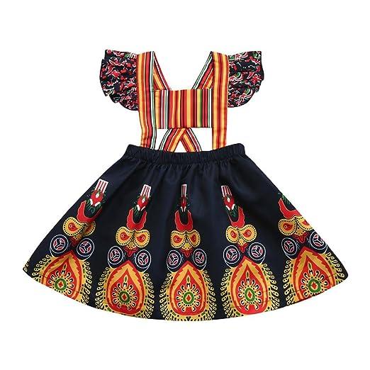 7f70a01c4a Amazon.com  TiTCool Little Girls Summer Casual Dresses