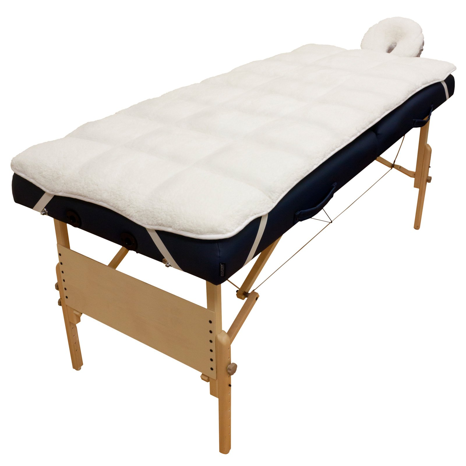 Body Linen Abundance Deluxe Quilted Fleece Massage Table Pad Set, 3.2 Pound by Body Linen