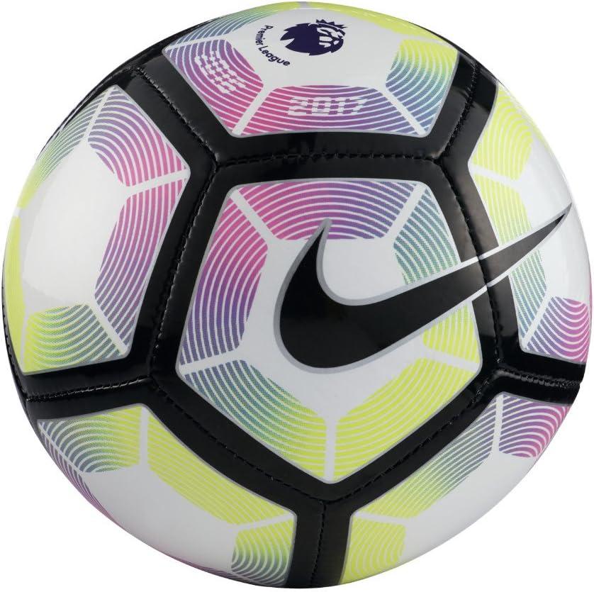 Nike Skills-Premier League Balón, Unisex Adulto, Blanco/Blue/Negro ...