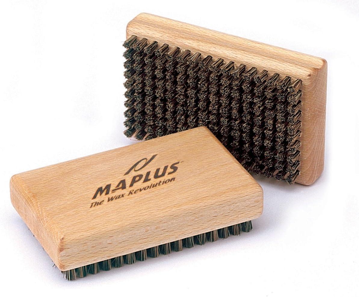 Maplus Hard Horsehair Ski /& Snowboard Brush