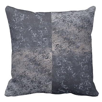 Amazon TORASS Throw Pillow Cover Corners Gray Black Tan Adorable Black And Tan Decorative Pillows