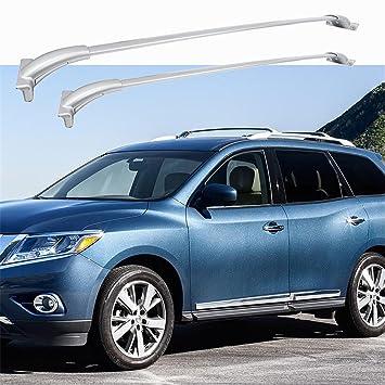 """beamtop 41 """"Cruz barras de techo barra portaequipajes para Nissan Pathfinder 2013 – 2015"""