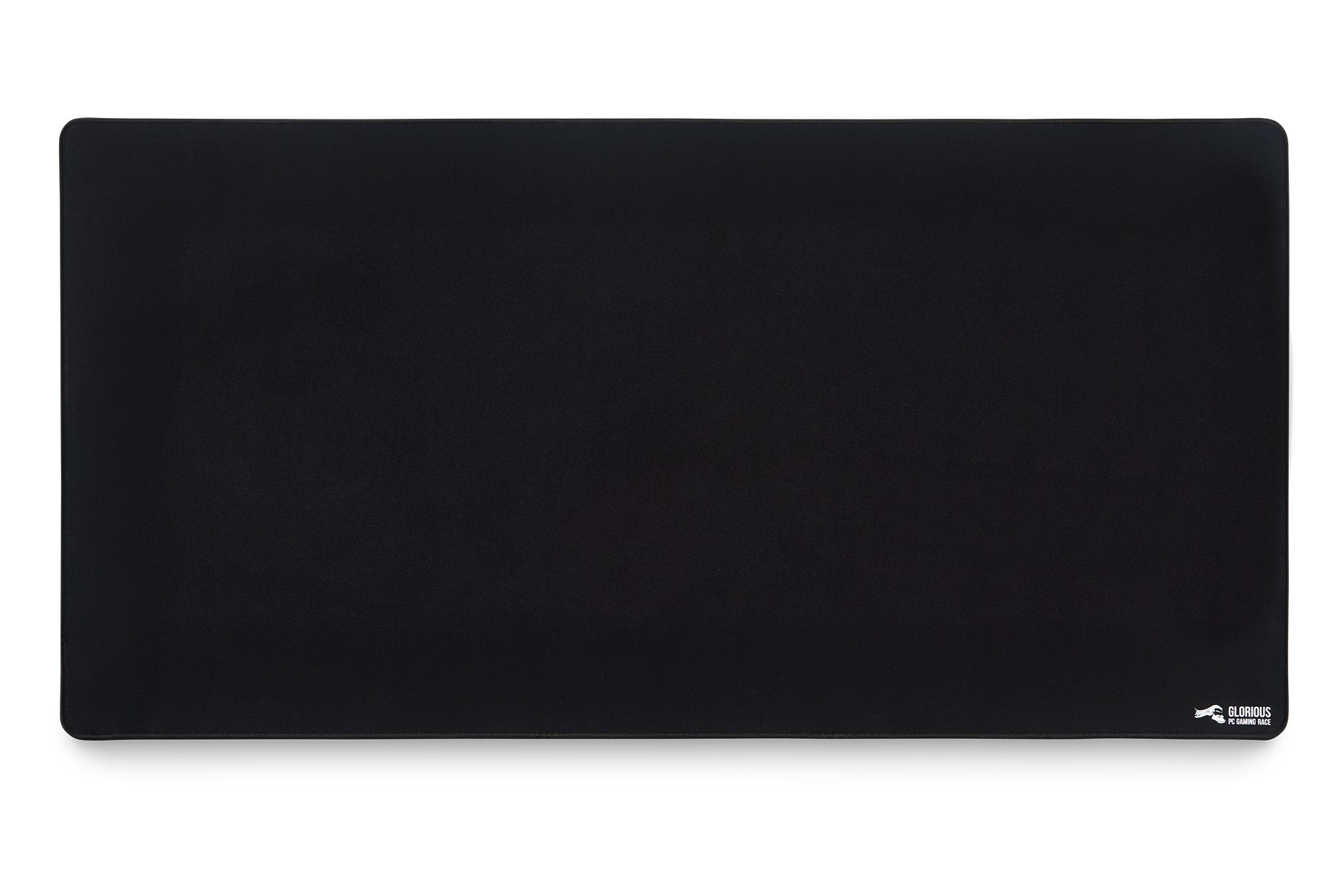 Glorious XXL Extended Gaming Mouse Mat/Pad - Large, Wide (XLarge) Black Cloth Mousepad, Stitched Edges | 36x18'' (G-XXL) by Glorious PC Gaming Race