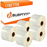 Bubprint Etiketten kompatibel f/ür Dymo 99014 S0722430 f/ür Labelwriter 310 320 330 Turbo 400 Twin Turbo Duo 450 Twin Turbo Duo SE450 101 X 54 MM