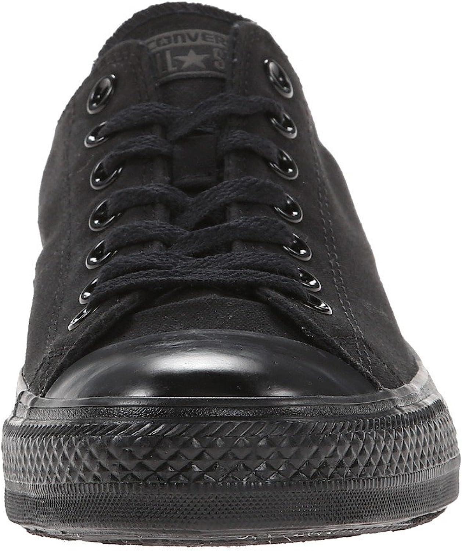 Size: 8 US Mens Converse Chuck Taylor All Star Ox Monochrome Black