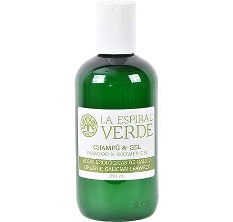 La Espiral Verde Champú y Gel Ducha de Algas sin Sulfatos - 250 ml: Amazon.es: Belleza