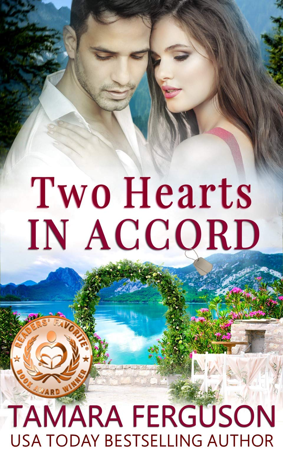 TWO HEARTS IN ACCORD  Two Hearts Wounded Warrior Romance Book 7   English Edition