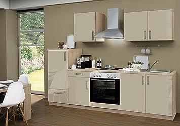 idealShopping Küchenblock mit Elektrogeräten Premium 270 cm in ...