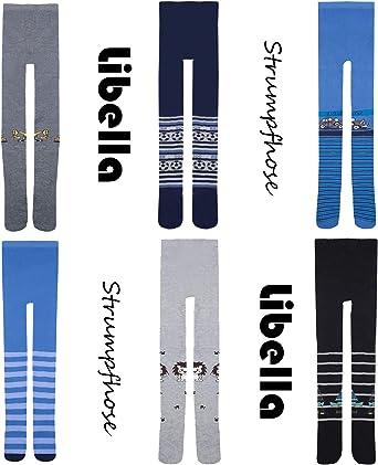 Libella Lot de 6//12 B/éb/é Enfants Collants Chaussettes Coton 27244 1-8 ans