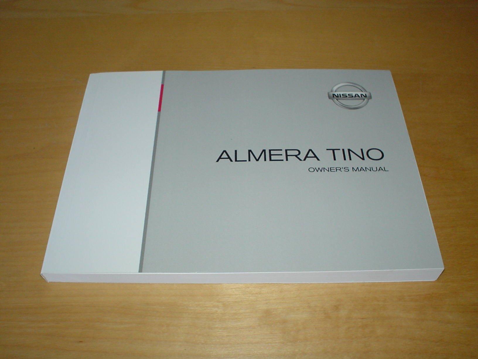 Almera Owners Manual 2000 Mercury Cougar Array Nissan Tino Handbook 2006 1 8 U0026 2 0 Rh