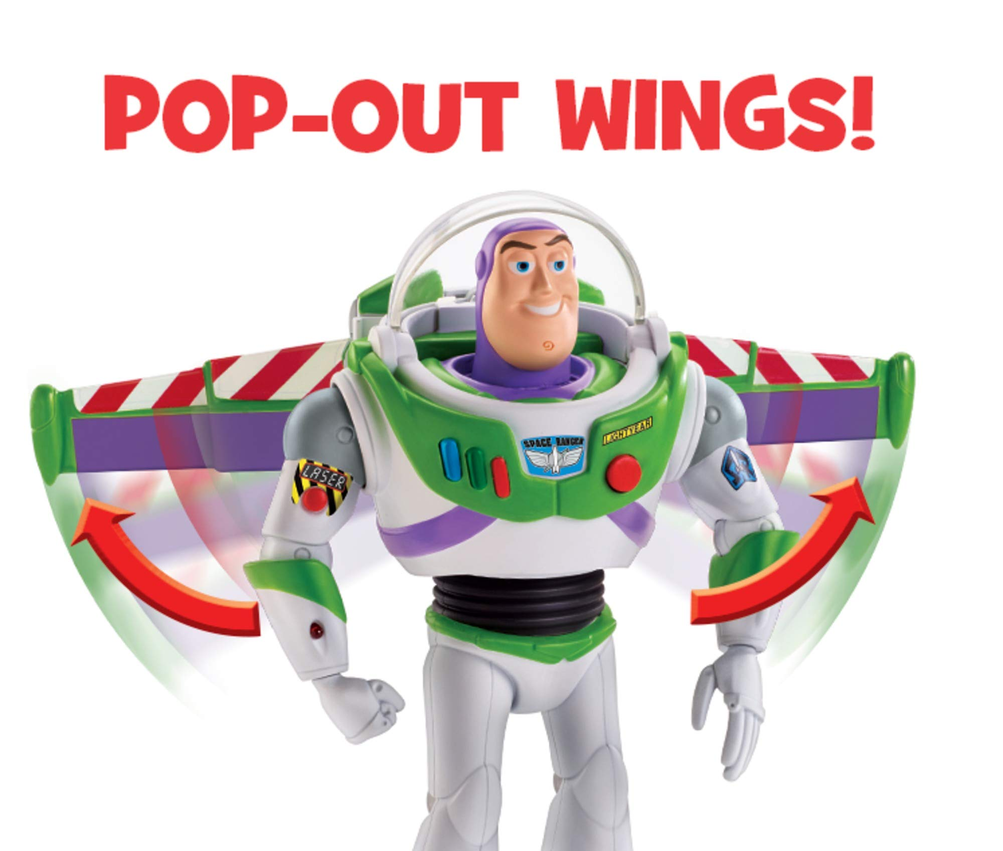 Disney Pixar Toy Story Ultimate Walking Buzz Lightyear, 7'' by Toy Story (Image #3)