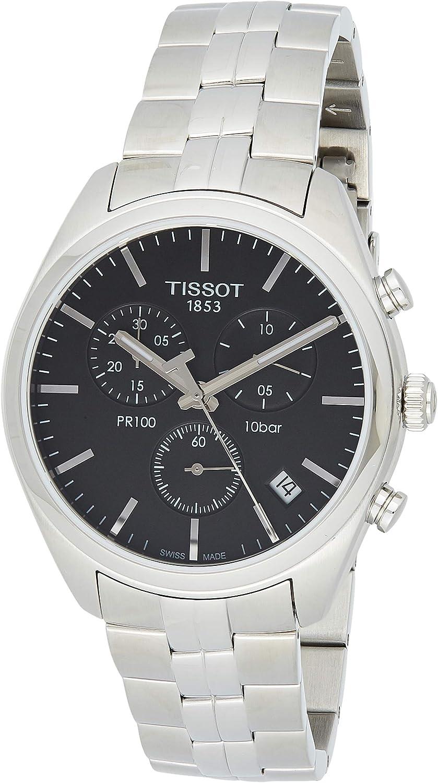 Tissot T1014171105100 T-Classic PR 100 - Reloj de Pulsera para Hombre