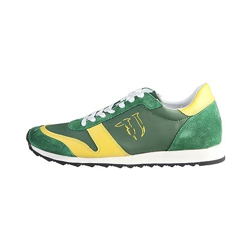Trussardi Jeans Verde Giallo Taglia 40  Amazon.it  Scarpe e borse b6b3ec122db
