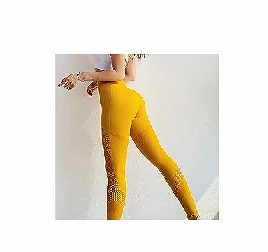 Amazon.com: Little Pepper-pants Women Seamless Leggings Yoga ...