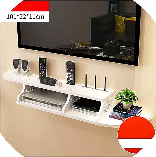 Mueble de Pared para TV con Soporte para TV, diseño Hueco, Soporte de Madera Falso, Soporte para computadora Caliente: Amazon.es: Juguetes y juegos