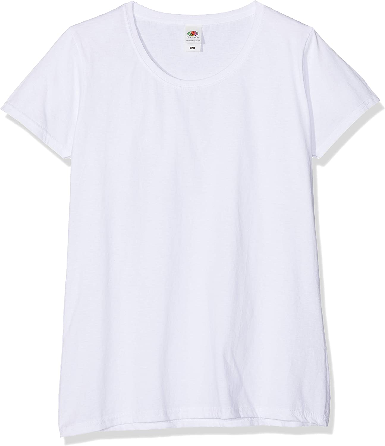 Lady-fit Valueweight Tee T-Shirt Donna 3 Pack Fruit of the Loom
